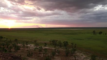 View of Jacob Nayinggul's country, Western Arnhem Land. Photo by Martin Thomas.