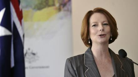Julia Gillard was Australia's first female Prime Minister.