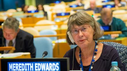 Emerita Professor Meredith Edwards. Photo: supplied.