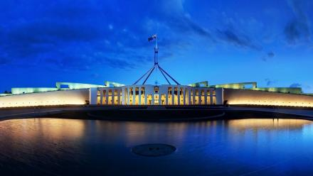 Parliament House, Canberra, is a host of the Australian National Internships Program, which is based at ANU.