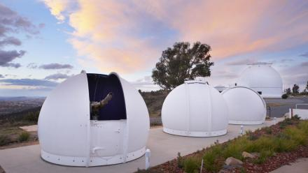 Mount Stromlo Observatory as photographed by Stuart Hay.