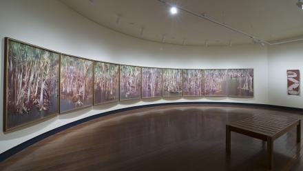 Sidney Nolan's Riverbend. Photo by Rob Little Digital Images.