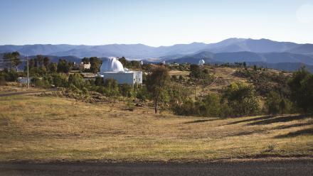 The Mount Stromlo Observatory was founded by Joan Duffield's father Walter.