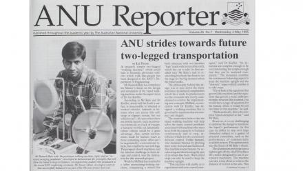 ANU Reporter Volume 26 No 7, Wednesday 3 May 1995.