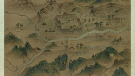 The Ten Counties of Henan Prefecture (Henanfu shiyi tu), Jiaqing period (1796–1820), National Library of China