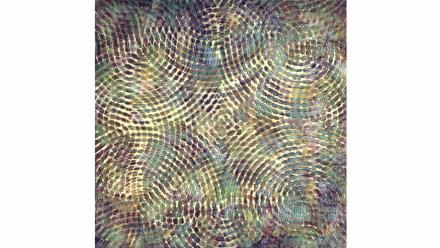 Morphic #2, Liz Coats, 1997, acrylic on canvas on board, courtesy the artist and Utopia Art Sydney;