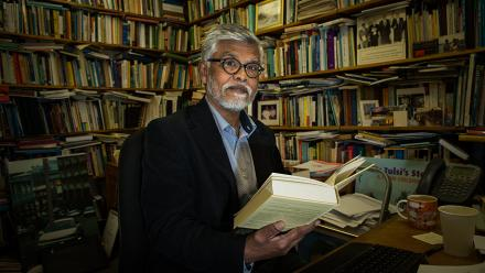 Professor Brij Lal. Photo by Stuart Hay.
