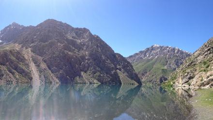 One of the many stunning views in Tajikistan.