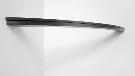 Expressway view, by Kensuke Todo, 2010, mild steel, 4 x 220 x 27.5 cm, Courtesy the artist and King Street Gallery on Williams. Photo by Stuart Hay.