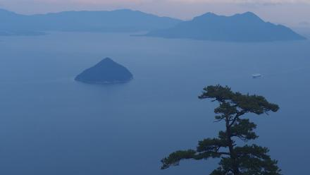 View from Mount Misen on Miyajima, Hiroshima. Photo by Zoe Cameron.