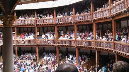 Millions of people still flock to The Globe, in London, to view Shakespeare's plays. Photo: Flikr.