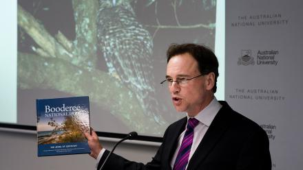 Minister for the Environment Greg Hunt launches Booderee National Park: The Jewel of Jervis Bay by David B Lindemayer, Christopher MacGregor, Nick C Dextor and Martin Fortescue.