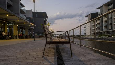 Kingston Foreshore has been redeveloped during the past 10 years.