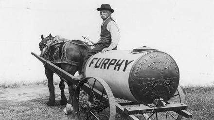 Furphy's Farm Water Cart, c.1900. Image courtesy of J Furphy & Sons Pty Ltd.