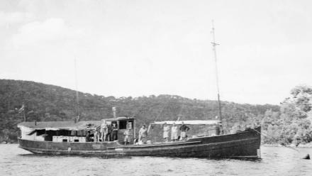 Krait during the Second World War