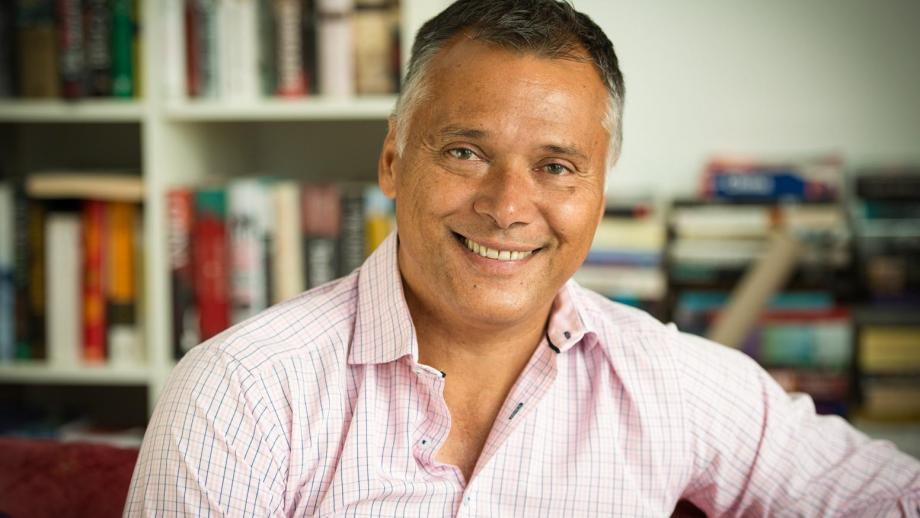 The Guardian and NITV journalist Stan Grant. Photo by Kathy Luu.