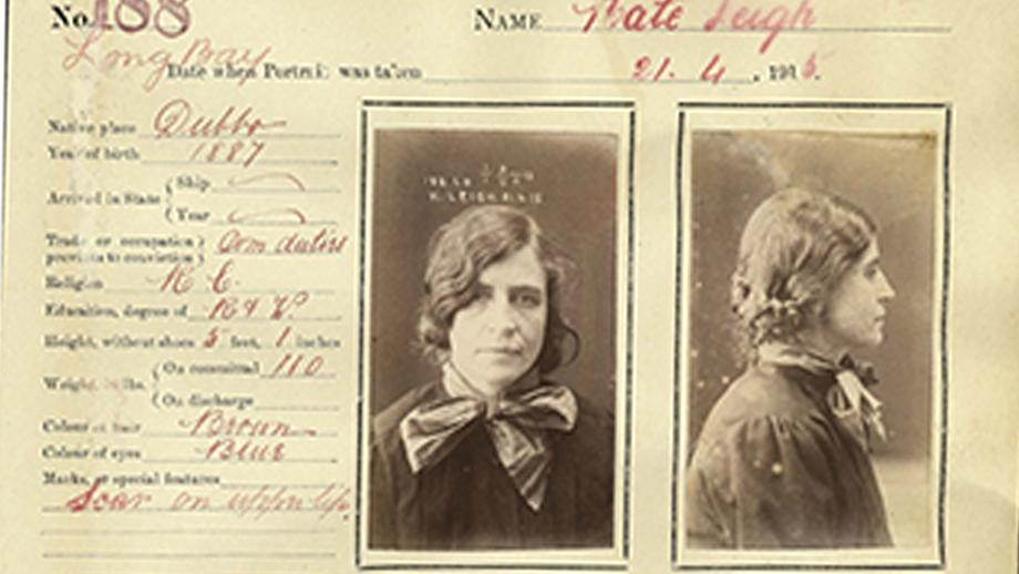 The record of Kate Leigh (State Records NSW).