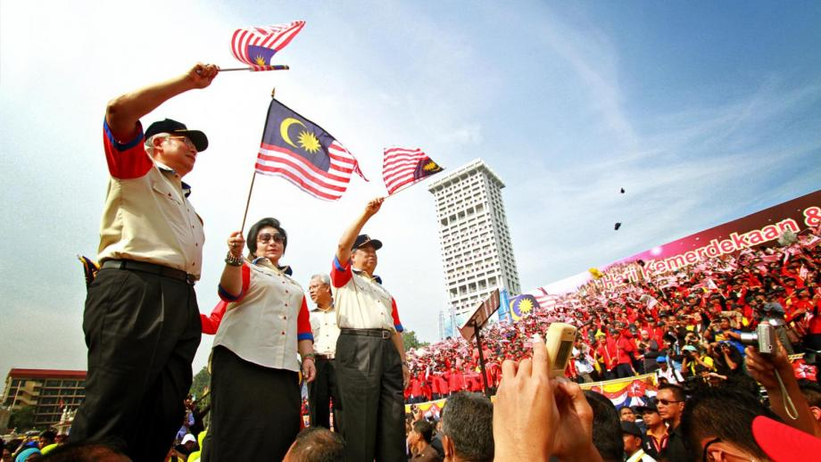 Malaysia's patriotism on display.