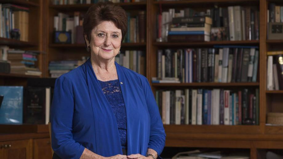 Susan Ryan graduated from ANU with a Master of Arts in 1974 and was named Alumna of the Year in 2018. Photo: Lannon Harley
