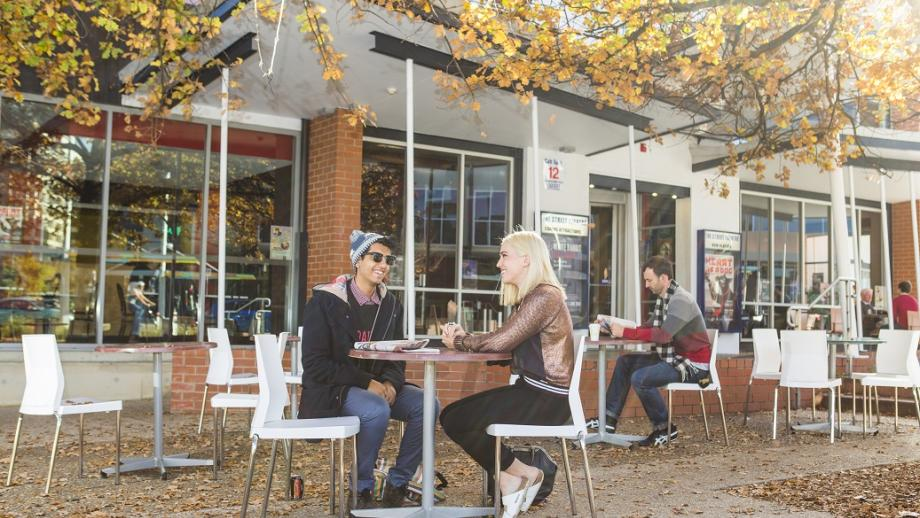 The Canberra coffee culture is growing, even in the colder months. Photo by Stuart Hay.