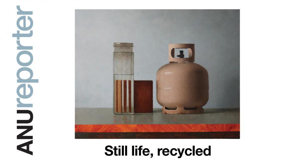 Still life, recycled