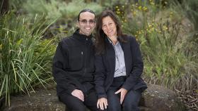 Melinda Walker and Adam Agius. Photo by Stuart Hay.