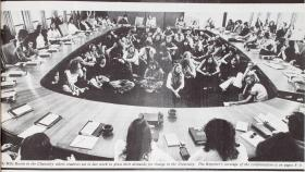 Student protestors invaded The Chancelry in 1975.