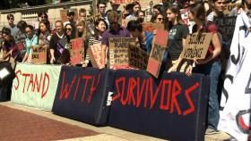 The Hunting Ground documentary looks at sexual assaults on US university campuses.