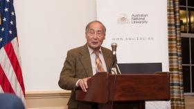 H. Yuan Tien at a ANU alumni event in 2014.