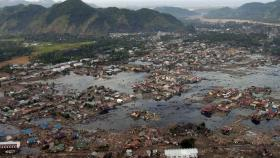 The December 2004 Indonesian tsunami.