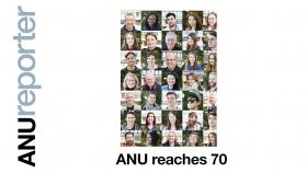 ANU reaches 70 - faces over the years