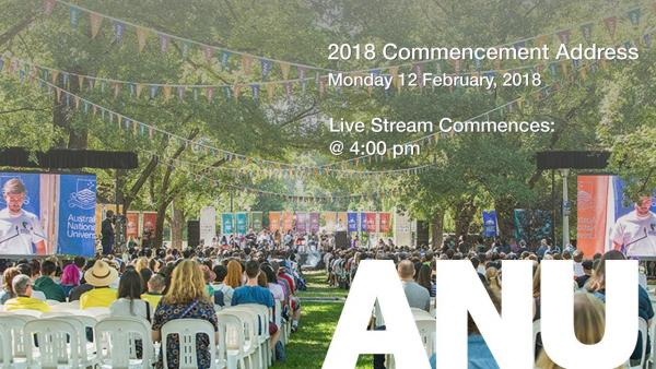 LIVE STREAM: 2018 Commencement Address