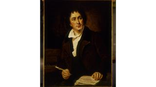 Portrait of Isaac Nathan, Australia's first composer. Courtesy of the National Library of Australia.