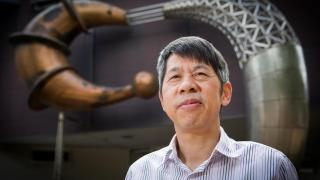 Professor Qinghua Qin from the ANU College of Economics and Computer Science. Photo by Stuart Hay.