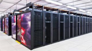 The Raijin supercomputer at the National Computational Infrastructure at ANU.