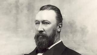 William John Lyne (1844-1913), by unknown photographer. National Library of Australia image.