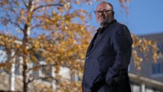 Professor Tony Dreise, Director of the ANU Centre for Aboriginal  Economic Policy Research. Photo by Lannon Hartley.