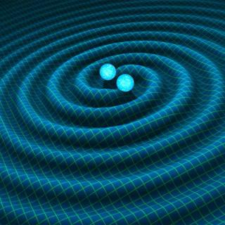 Gravitational waves are vibrations of space and time themselves, one part of Einstein's 1916 General Theory of Relativity.