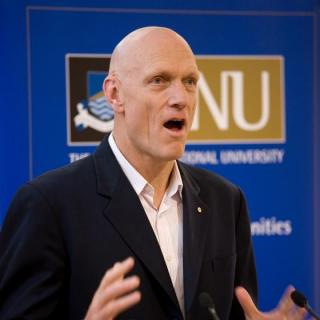 Peter Garrett AM regularly visits ANU. Photo by Stuart Hay.