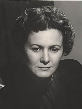 Author Eleanor Dark, AO, c. 1945, photographed by Max Dupain, Wikimedia commons.