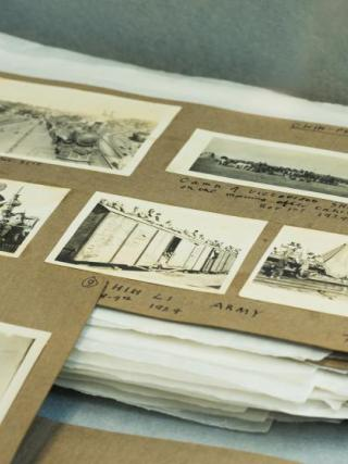 An album of photographs belonging to CP FitzGerald. Courtesy of Mirabel and Anthea FitzGerald.