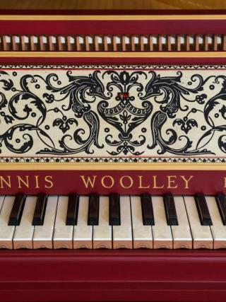A Dennis Woolley-restored piano. Photo by Stuart Hay.